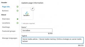 LinkedIn bedrijfspagina medewerkers updates